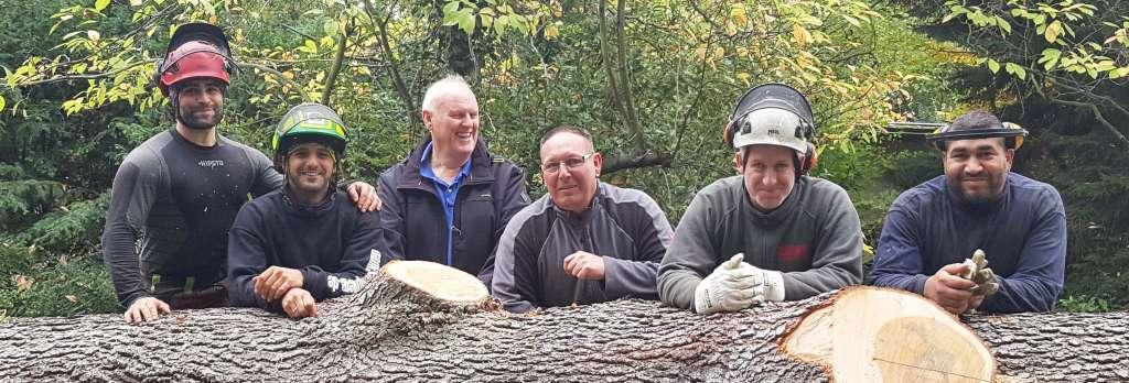 Team Banks Baumpflege